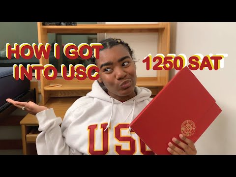 HOW I GOT INTO USC WITH A LOW SAT | MY STATS + ESSAYS