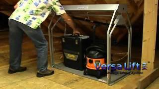 Versalift Garage Storage System