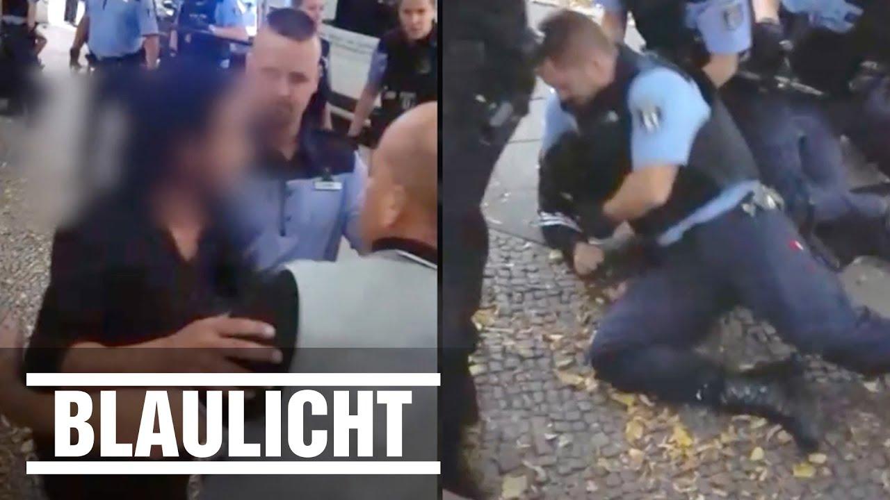 polizeieinsatz in berlin schreie und pfefferspray im