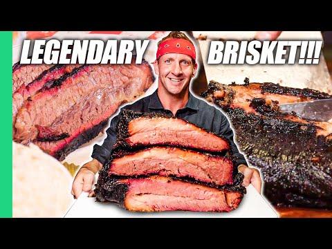 Download Dino-Sized Brisket in TEXAS!! Best American Food BBQ!!