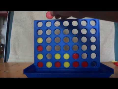 How to Win at Connect 4 - Tip 1 - Two Winning Moves, One on Top of the Other - Tutorial
