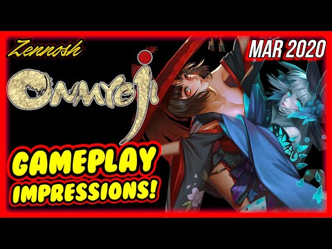 Onmyoji Gameplay First Impressions! Worth Playing? Mobile RPG Games!