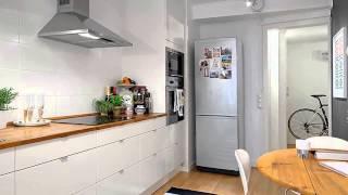 Очаровательная шведская квартира оригинальной планировки