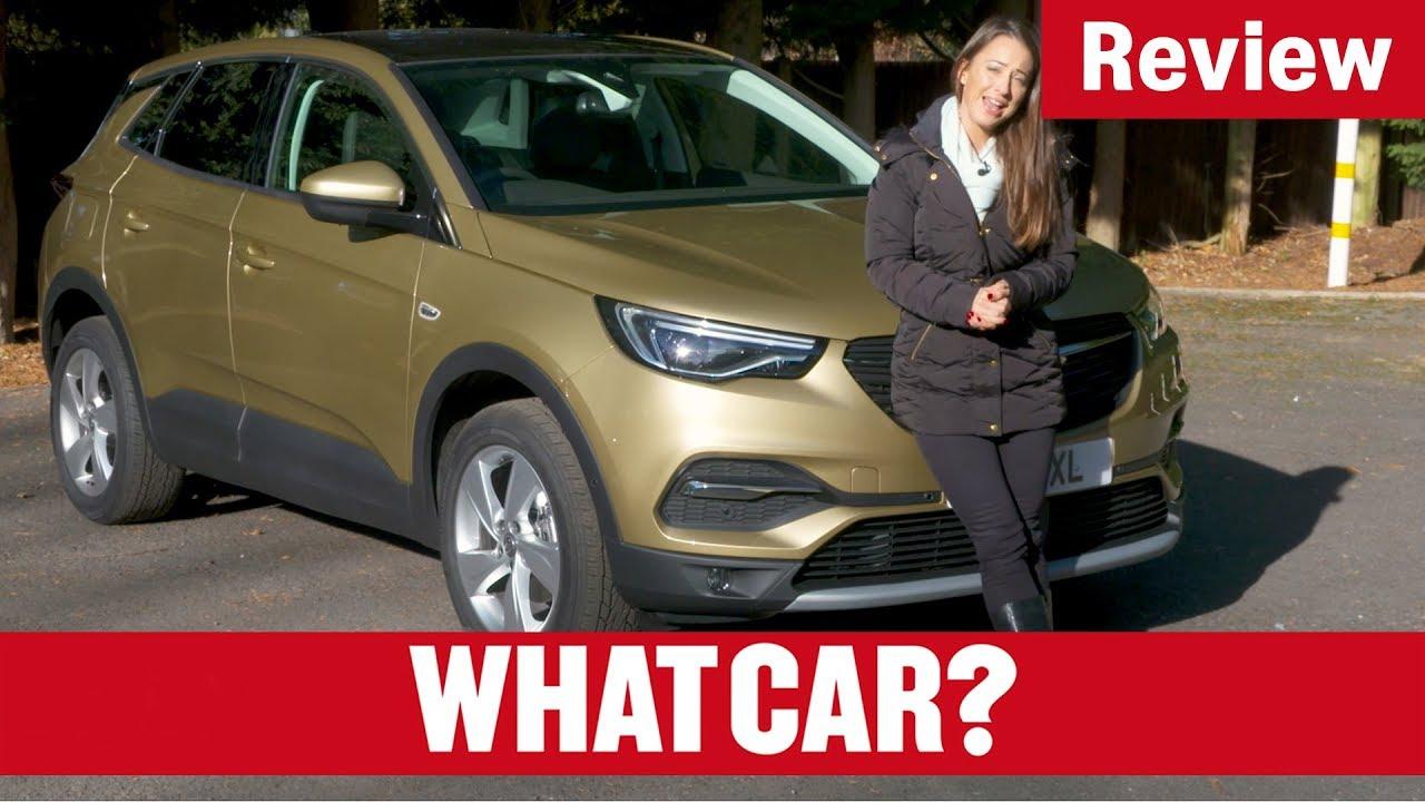 2017 Vauxhall Grandland X review - is Vauxhall's largest SUV a hit?   What Car? - Dauer: 7 Minuten, 34 Sekunden