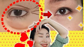Lift Droopy Eyelids by Wink Exercise👁💕Remove Eye Bags and Reduce Wrinkles (Crow Feet) in 7 Days