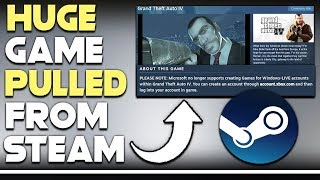 HUGE Game PULLED From STEAM + NEW PC Game is a TRAIN WRECK!