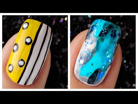 Simple Nail Art Design 2019❤️💅 Compilation | Cute Nails Art Ideas For Beginners #43