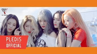 special video pristin v 프리스틴 v 네 멋대로 get it mv behind the scene