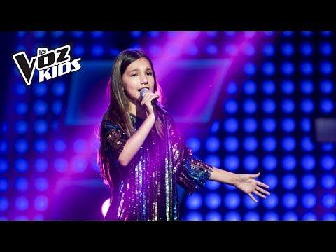 Sofía canta Cuán Lejos Voy - Audiciones a ciegas | La Voz Kids Colombia 2018