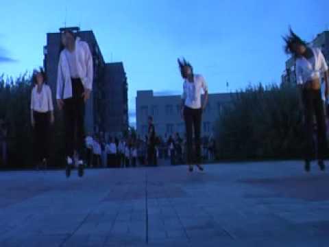 Видео: Школа танцев Квадрат  - вечер памяти М. Джексона