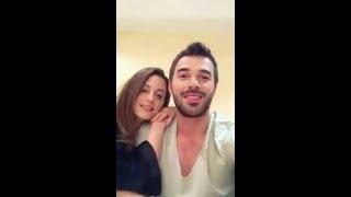 "Yusuf Çim ve Seren Şirince   Canli Yayin   seven ne yapmaz set"" Insta Live Video"""