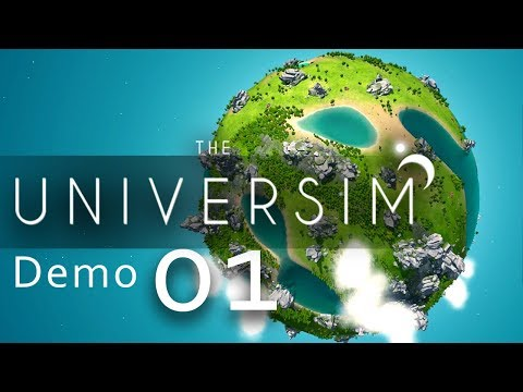 The Universim DEMO [#01] - Ein Planet voll Hoffnung - Let's Play