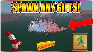 SPAWN ANY GIFTS FOR FREE! (EASY NEW METHOD!) [NOT PATCHED!] LUMBER TYCOON 2 ROBLOX