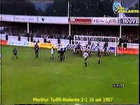 1987-88 Coppa Coppe Merthyr Tydfil-Atalanta 2-1 16 set 1987 (Progna)