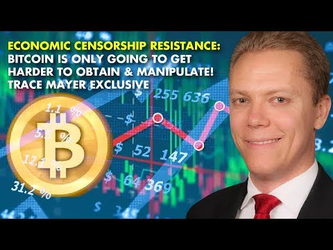 Economic Censorship Resistance: Bitcoin Is Only Going To Get Harder To Obtain & Manipulate!