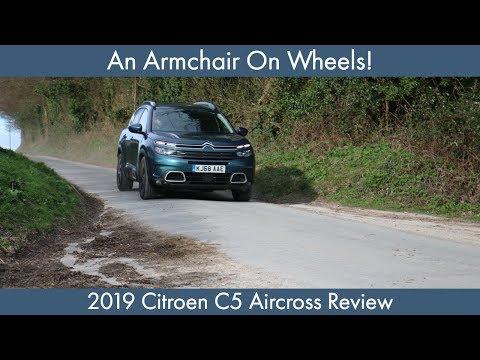An Armchair On Wheels: 2019 Citroen C5 Aircross Review (1.2 litre Flair Model)