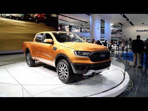 2019 Ford Ranger 2018 Detroit Auto Show