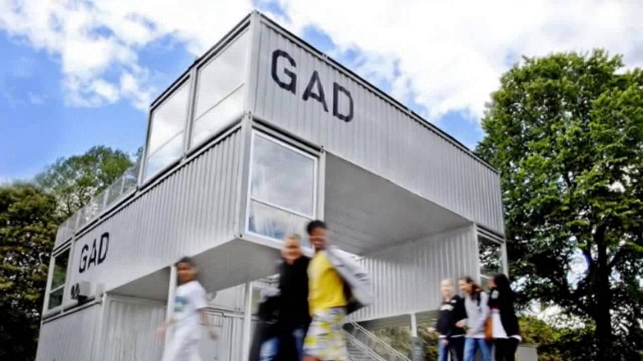 Gad Is A Mobile Shipping Container Gallery For Traveling