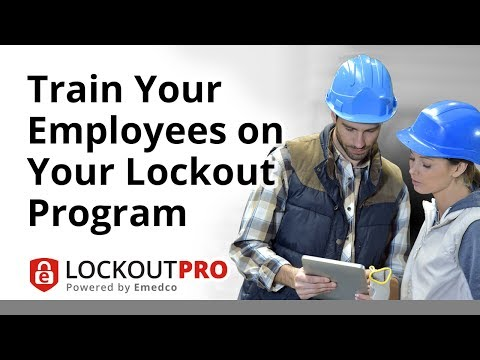 Train Your Employees On Your Lockout Program | Lockout Pro Video