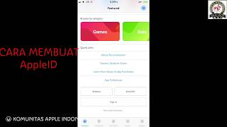 How to Create AppleID Region USA ( cara membuat apple ID Region Amerika )