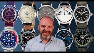 10 relojes mecánicos por menos de 1000 euros (y de 500 ¡y de 100!)