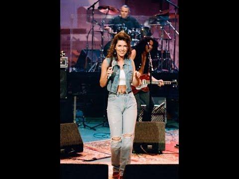 Shania Twain-Any Man Of Mine-Jay Leno Show (1995)