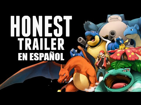 POKÉMON ROJO Y AZUL (Honest Game Trailer en Español)