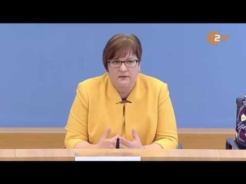 Gleicke stellt den Jahresbericht der Bundesregierung zum Stand der Deutschen Einheit vor