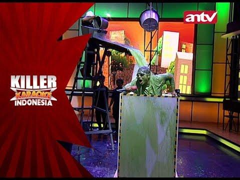 Aduh! Melki menyerah di tantangan Bocor! – Killer Karaoke Indonesia