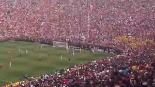 Soccer Crowd at Michigan Stadium