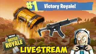 FORTNITE BATTLE ROYALE LIVE: KILLING NOOBS (And Getting Killed by Noobs)
