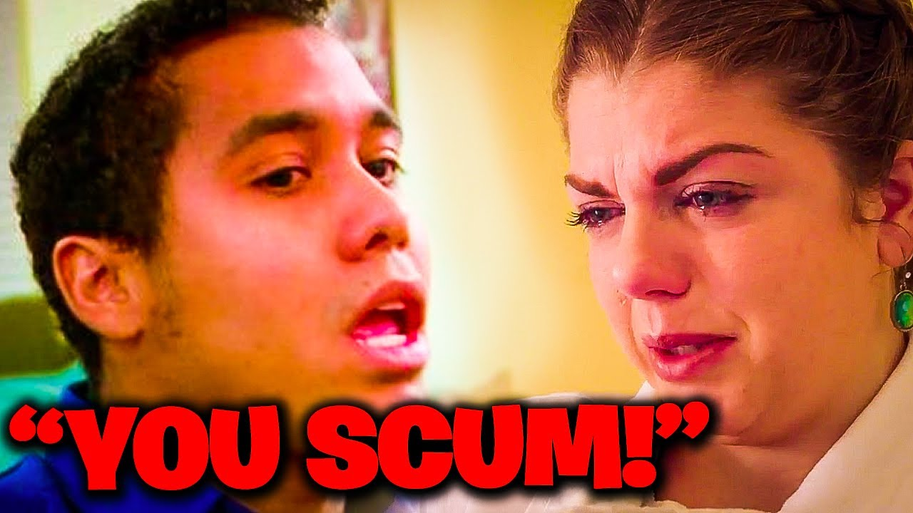 MOST EXPLOSIVE Fights On 90 Day Fiance!
