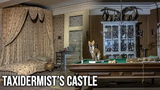Abandoned Historical Castle of a French Taxidermist - Found large animal collection!