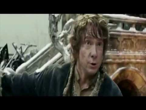 The Hobbit: BOTFA Extended Edition - Bilbo planting acorn in Dale