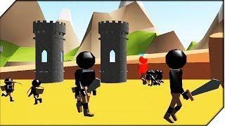 ЗЕЛЕНЫЕ УШАСТЫЕ СТИКМЕНЫ - Игра StickmanLegacy of War 3D Прохождение # 2 Стикмены атакуют