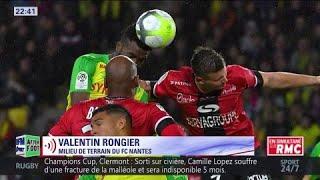 Valentin Rongier, milieu du  FC Nantes, répond à l'After concernant Ranieri