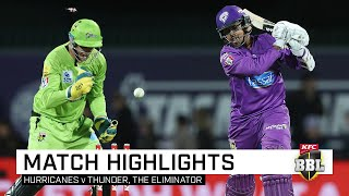 Cook, openers send Hurricanes packing from BBL Finals | KFC BBL|09
