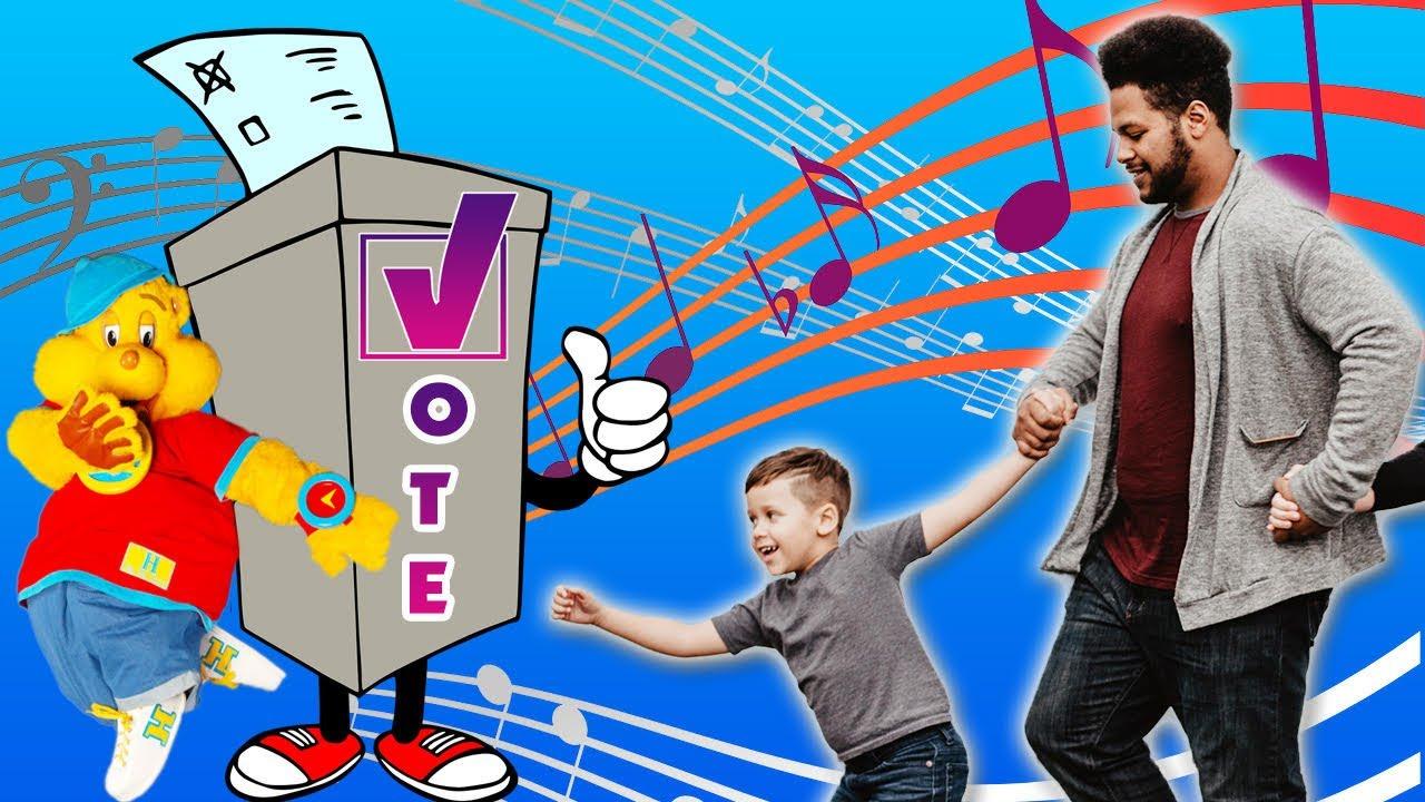VOTE VOTE VOTE! WHO'S NEXT? | Voting Song for Kids + Parents | Hip Hop Harry Rap + Dance