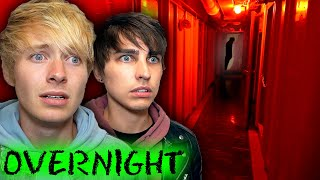OVERNIGHT in USA's Most Haunted Ghost Ship (w/ Fans)