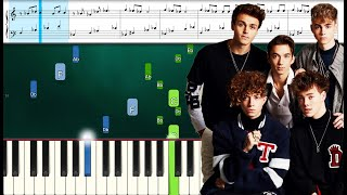 Why Don't We - Chills (Piano Sheets) Advanced