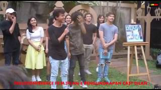 PRESSCONFERENCE PENGENALAN CAST FILM DILAN DAN IQBAL SEBAGAI DILAN