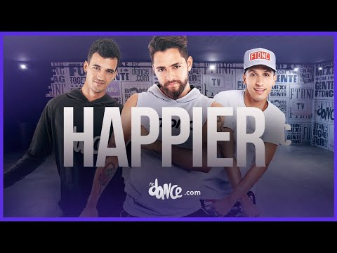 Happier  - Marshmello ft Bastille  FitDance Life Choreography  Dance