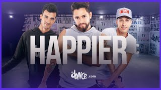 Happier  - Marshmello ft. Bastille | FitDance Life (Choreography) Dance