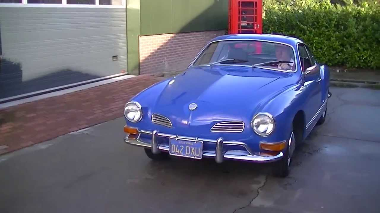 vw karmann ghia coupe 1971 video youtube. Black Bedroom Furniture Sets. Home Design Ideas