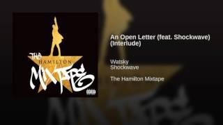 An Open Letter (feat. Shockwave) (Interlude)