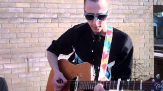 Peter Piek - The words they're left undone (live at the Pollinaiton Terrace 25.04.2011)