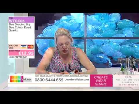 How to make Gemstone Jewellery - JewelleryMaker LIVE (AM) 27/08/2014