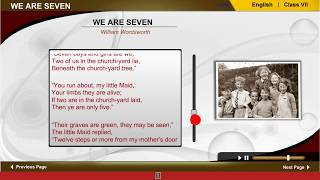 We are seven | Class VII English | WBBSE