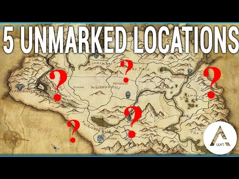 5 Unmarked Locations - Skyrim Special Edition