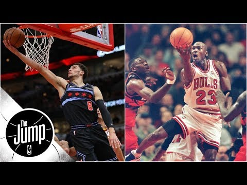 Zach LaVine, Michael Jordan and the best reverses in NBA history | The Jump